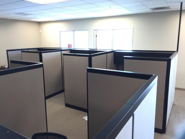 6x6 Steelcase Refurbished Cubicles New Life Office Cubicle Home Decor Steelcase