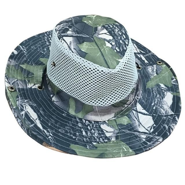 4894ddd5fad Military Camo Bucket Hats Camo Hats With Wide Brim Sun Fishing Bucket Hat  Beach Sun Hat