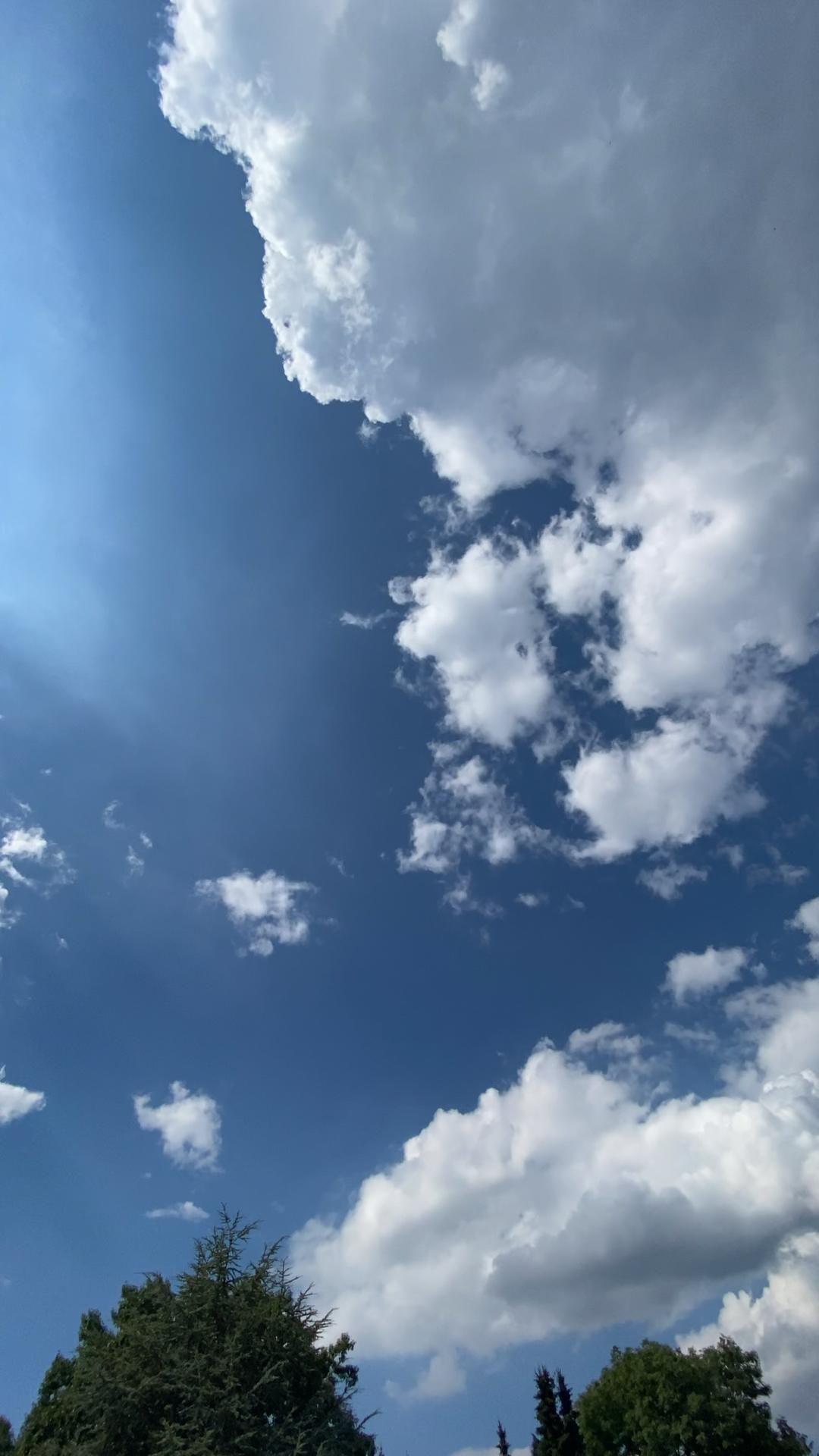 Blue Sky Cloud Timelapse Video
