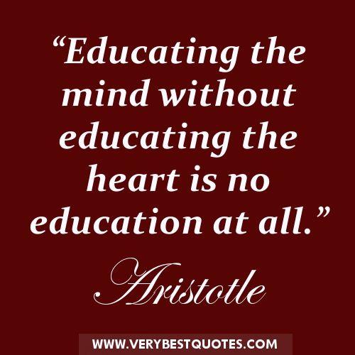aristotle purpose of education