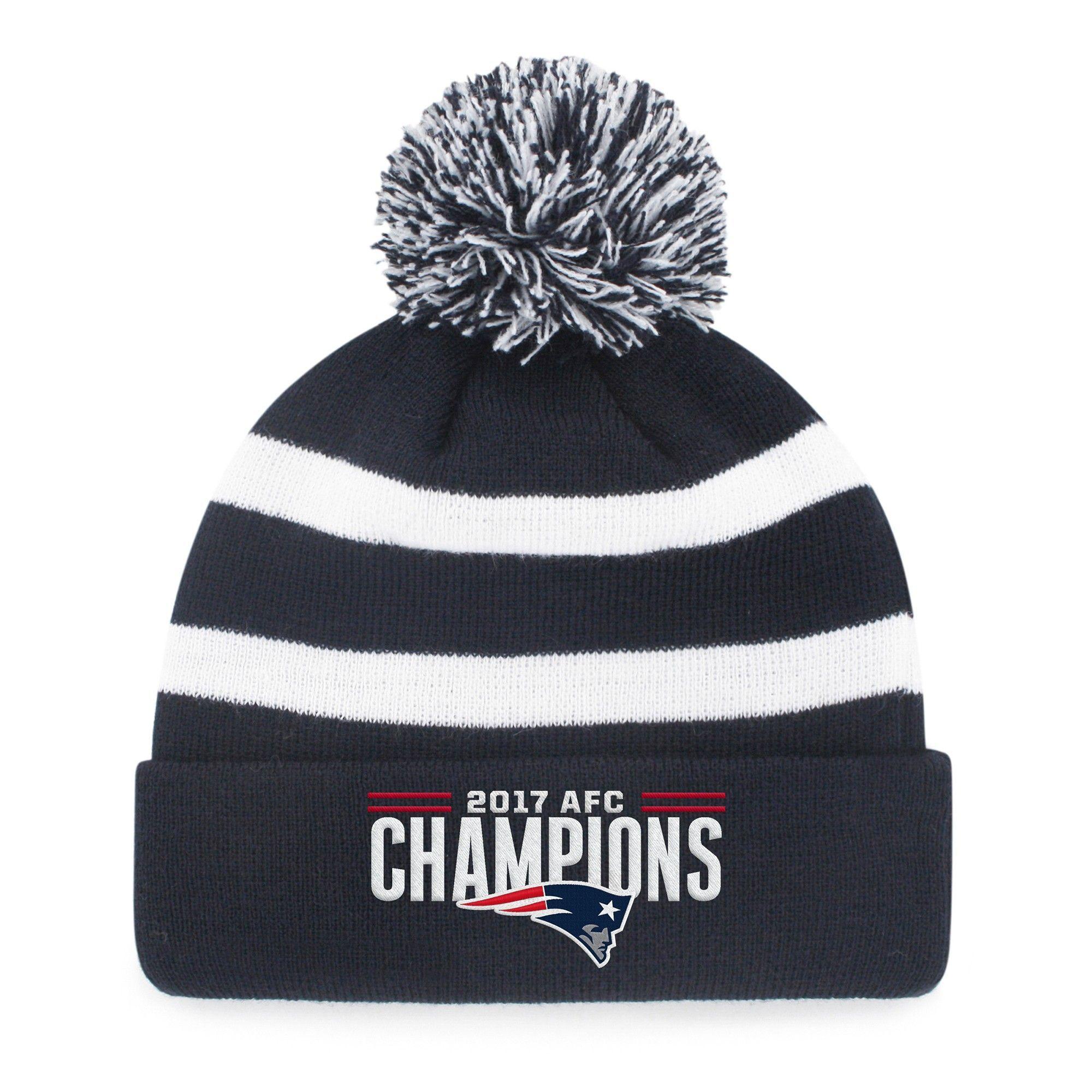 087ad3f87b3 NFL Super Bowl 52 Philadelphia Eagles Blackball Knit Hat with Pom ...