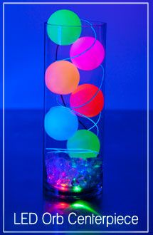 Led Pool Orb Light In 2019 Glow In The Dark Neon Party Bar
