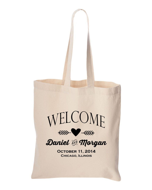 Wedding welcome bag Bulk order Personalized destination Wedding ...