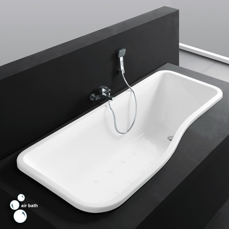 Maryse Acrylic Drop-In Air Tub | master bath | Pinterest | Air tub ...