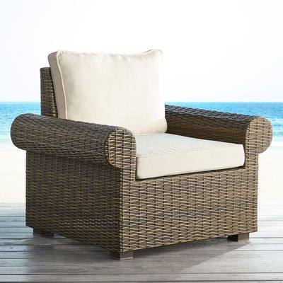 Echo Beach Latte Roll Armchair Rolled Arm Chair Outdoor Swivel Chair Cheap Dining Room Chairs