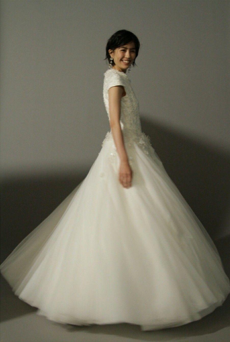 yui sakuma 佐久間由衣 ウェディングドレス ウェディング
