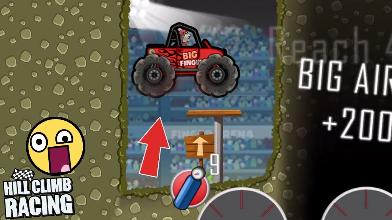 Hill Climb Racing New ARENA Map Is Awesome Hill Climb Racing