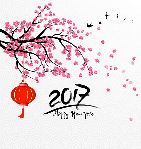 2017 chinese new year background with flowers vector 02 httpswww