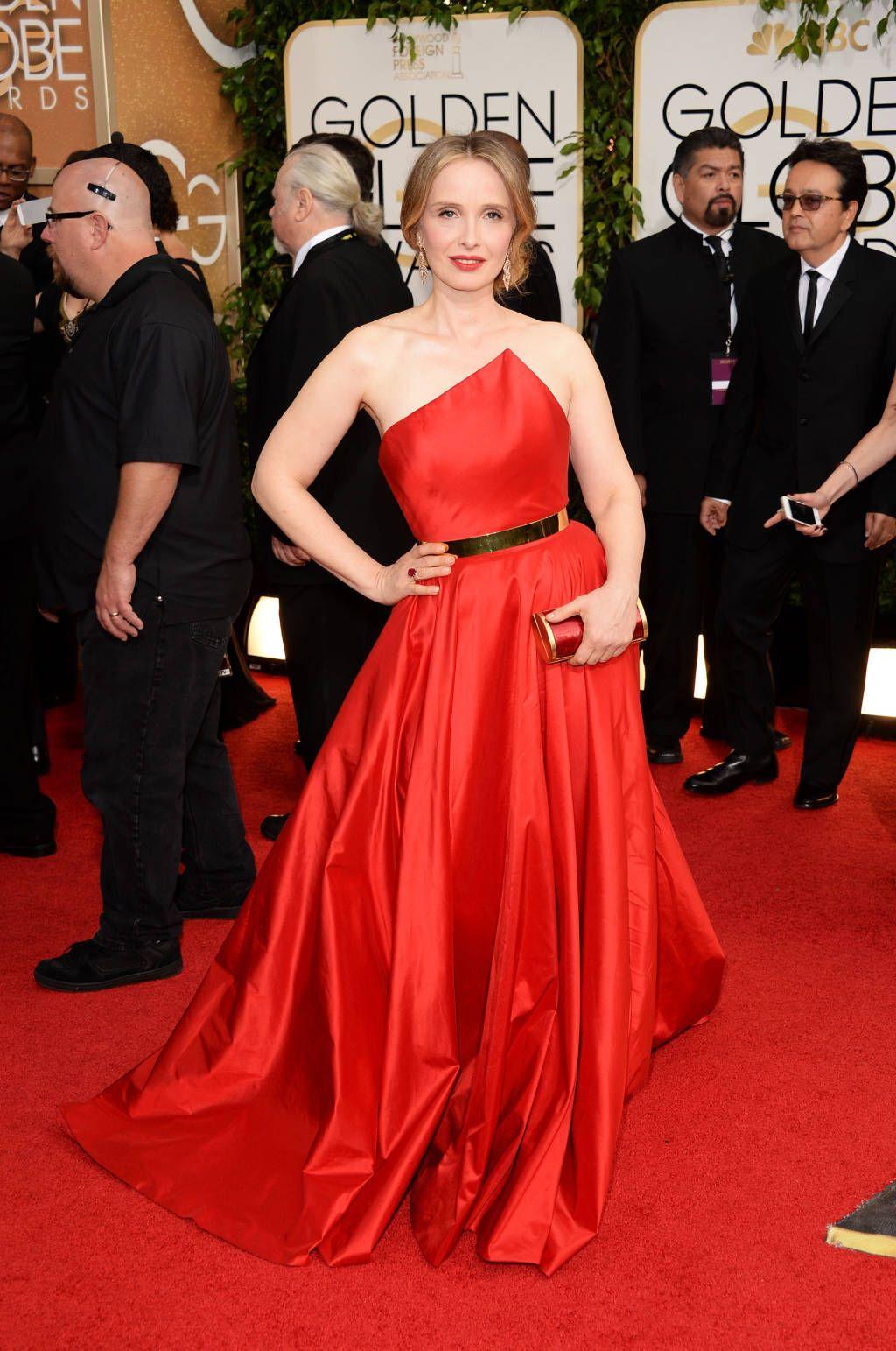 Golden Globes Red Carpet 2014 - Julie Delpy