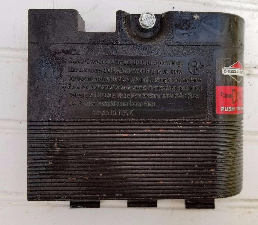 Briggs Stratton Quantum Air Filter Cleaner Primer Cover