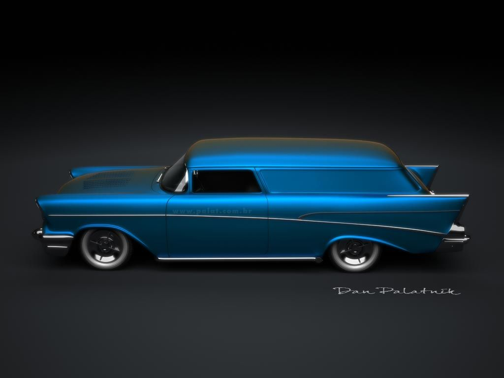 1957 Chevrolet Sedan Delivery Custom Cars Etc Chevy Panel Truck Nomad