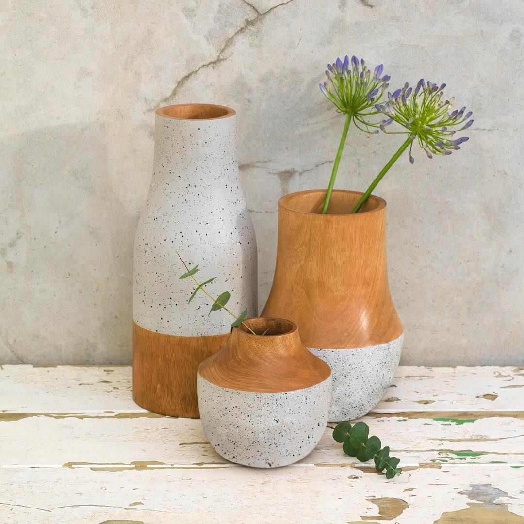 Available in 3 different shapes our luna vase is hand carved from available in 3 different shapes our luna vase is hand carved from ancient mango reviewsmspy