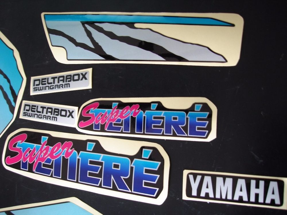 Yamaha Xtz 750 Super Tenere Graphics Decals Excellent Quality Free Shipping