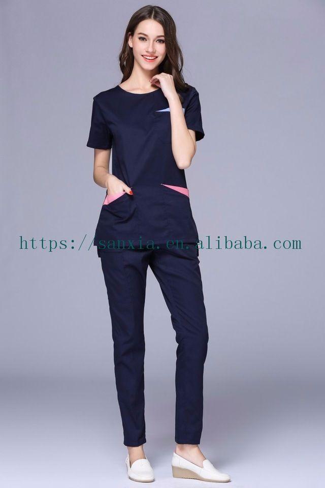bfc3a65ebd8 Fashionable Nurse Uniform Designs For Women In Hospital Uniform ...