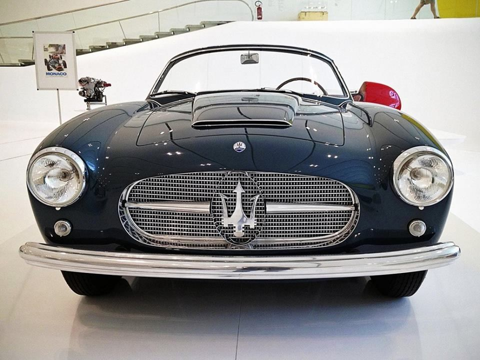 Maserati A6g 2000 zagato convertable in this town, we are in 1955, created to be able to then be presented to the salon in Turin in the same year, also peron I ordered one that was never delivered to political problems,
