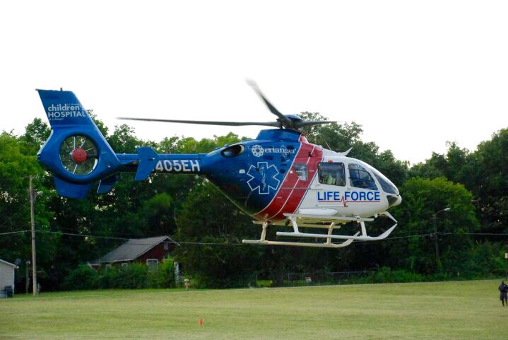 Life Force Air Medical Flight Paramedic Helicopter Emergency Service