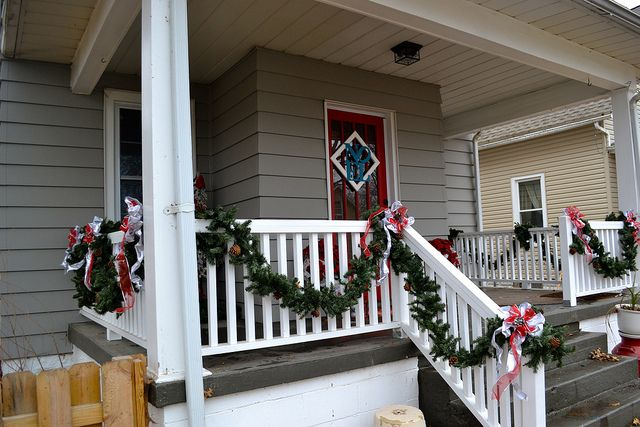 33++ Decorating front porch railing christmas ideas in 2021