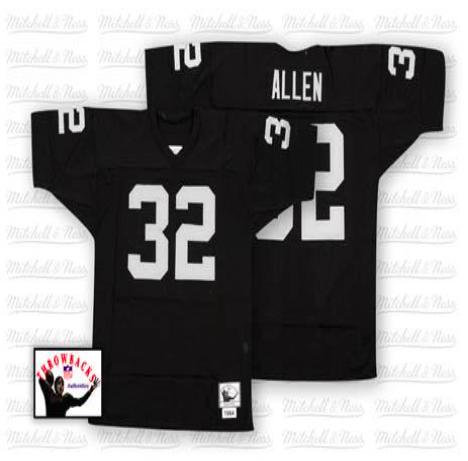 newest 6d983 9fcbb Oakland Raiders #32 Marcus Allen Throwback Jerseys ...