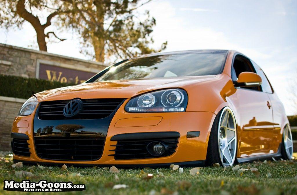 Stanced Cars Photo Volkswagen golf, Volkswagen