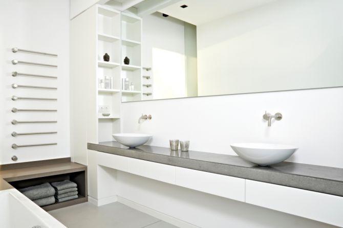 Waschtisch Mit Betonplatte