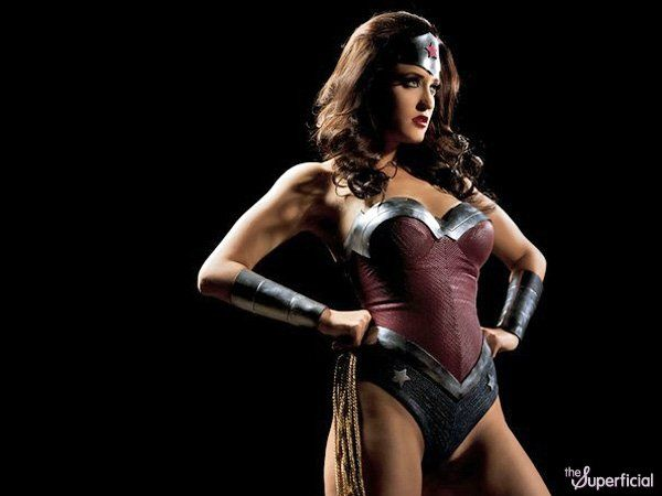 How to create a wonder woman costume-2380