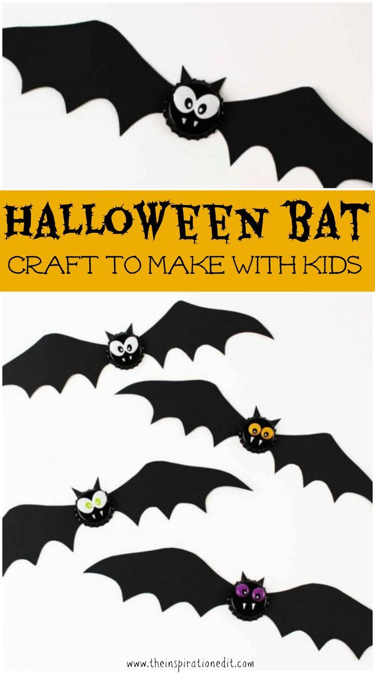Halloween Craft Ideas For Toddlers Bat Magnet   Halloween crafts ...