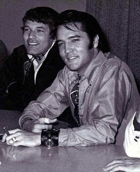 Steve Binder, Director And Elvis Presley, Performer, At
