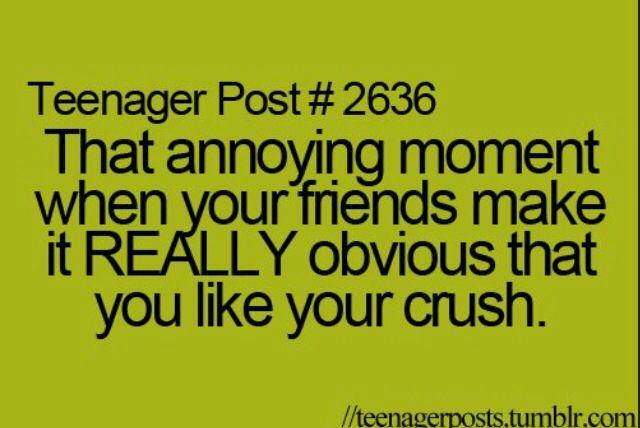 my crush hates me
