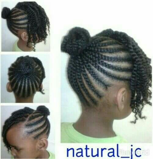 Beautiful And Easy With Images Natural Hairstyles For Kids