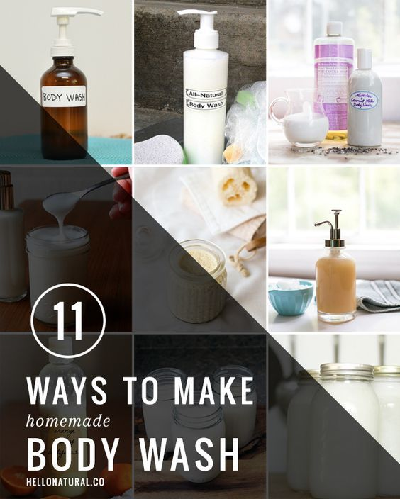 11 Ways To Make Homemade Body Wash | HelloNatural.co