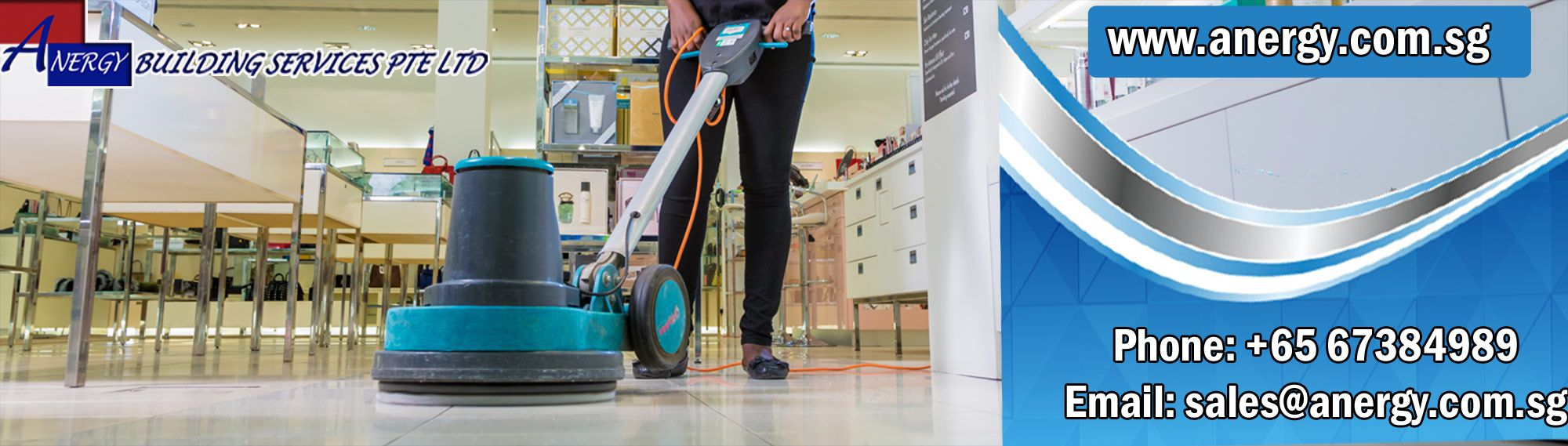 Floor Scrubbing Service Is Performed To Clean The Floor With Great