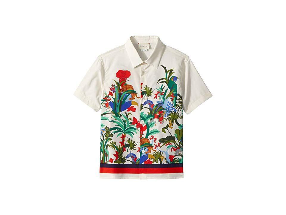 Gucci Kids Shirt 499998xb20a Little Kids Big Kids Bone