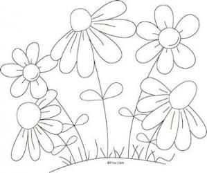 1b coloring pages | Mothers Flowers 1b Country Line Art Pattern : Digi Scrap ...