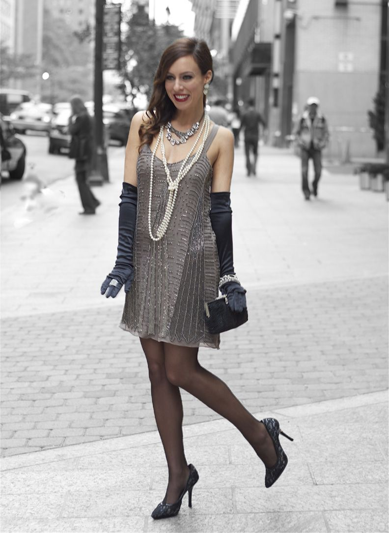 Party in the style of Gatsby: costumes, makeup, competitions 94