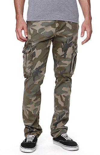 Dillon Skinny Cargo Camouflage Pants  952b2e8b0