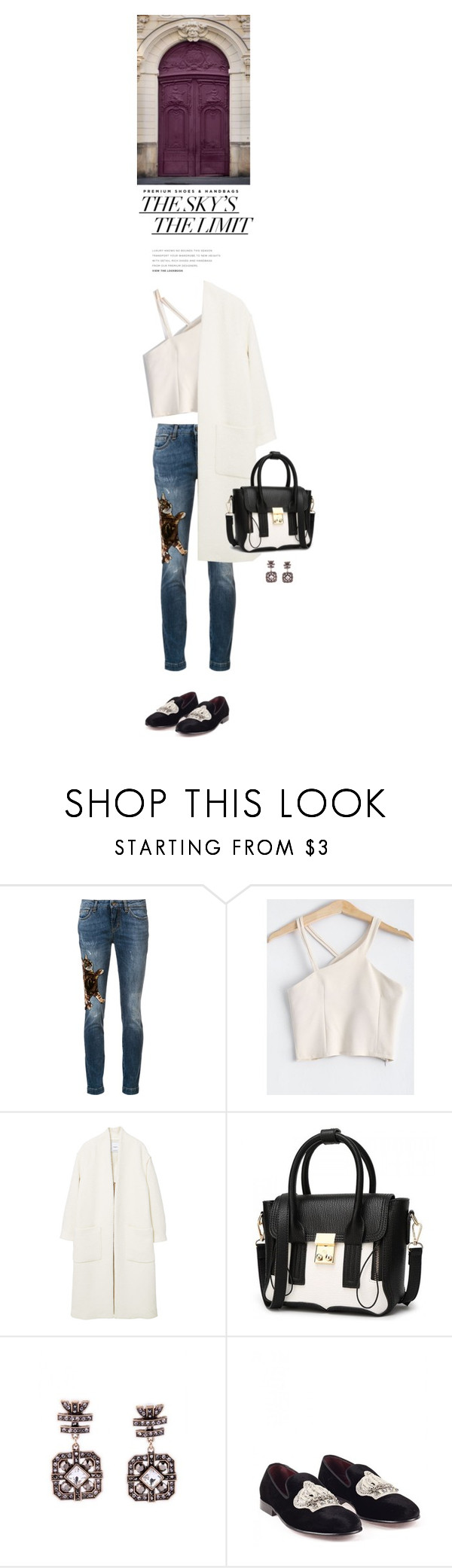 """Dresslily"" by s-thinks ❤ liked on Polyvore featuring Dolce&Gabbana and MANGO"