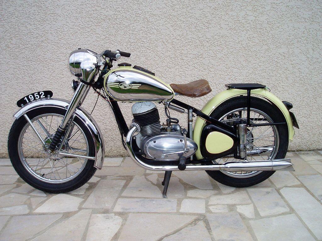 1952 Jawa Perak Old Bikes Vintage Motorcycles Classic Motorcycles