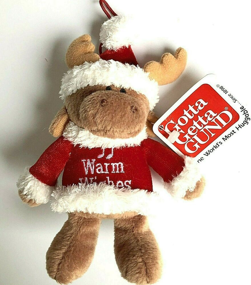 "Jolly Santa 7/"" Gund"