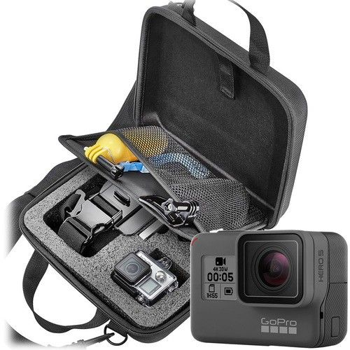 Best Buy Gopro Hero5 Black 4k Action Camera With Dynex Advanced Accessory Kit Action Camera Gopro Accessory Kits