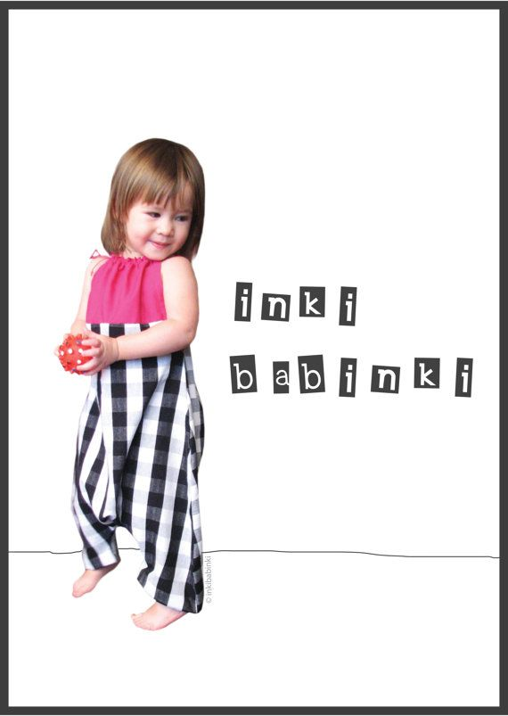 Baby Bubble Romper  pink gingham by inkibabinki on Etsy, $45.00