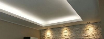 Controsoffitti in cartongesso per salotto foto 1 lanterne ceiling design living room - Idee per soffitti in cartongesso ...