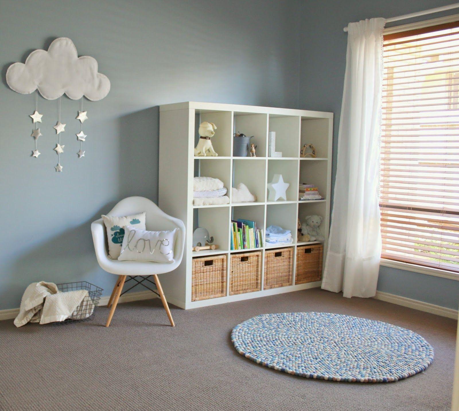 Max Me Light Blue Nursery Ideas Simple Baby