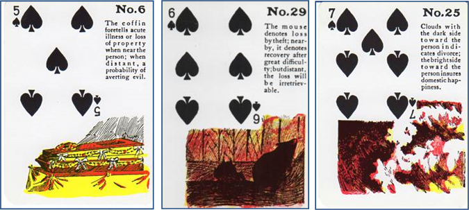 Photo of Reading with the Gypsy Witch Fortune Telling Playing Cards Part 5