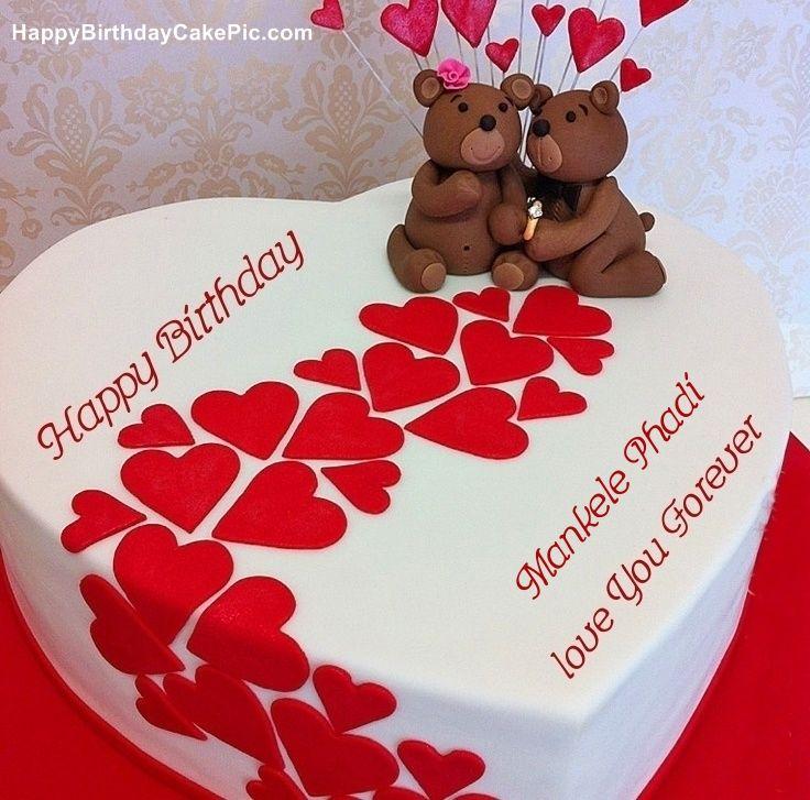 write name on Heart Birthday Wish Cake Stuff to buy Pinterest
