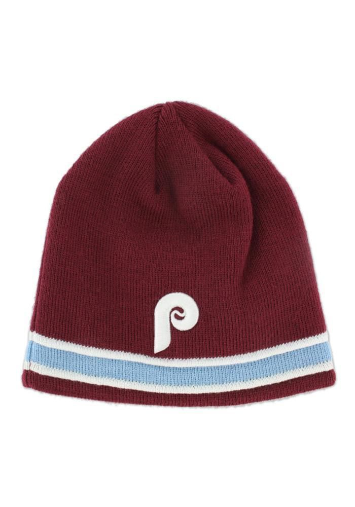Philadelphia Phillies Cooperstown Super Pipe Knit http   www.rallyhouse.com  43dcd107f80