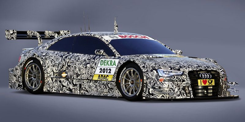 Homologated And Disguised Audi A5 Dtm Photo By Audi Sport