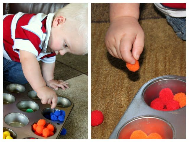 Fine Motor Skills with Pom Poms - Re-pinned by @PediaStaff – Please Visit http://ht.ly/63sNt for all our pediatric therapy pins