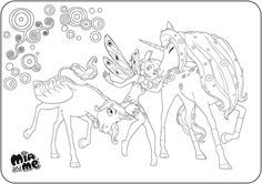mia and me ausmalbilder - ausmalbilder für kinder | coloring pages for kids, coloring pages