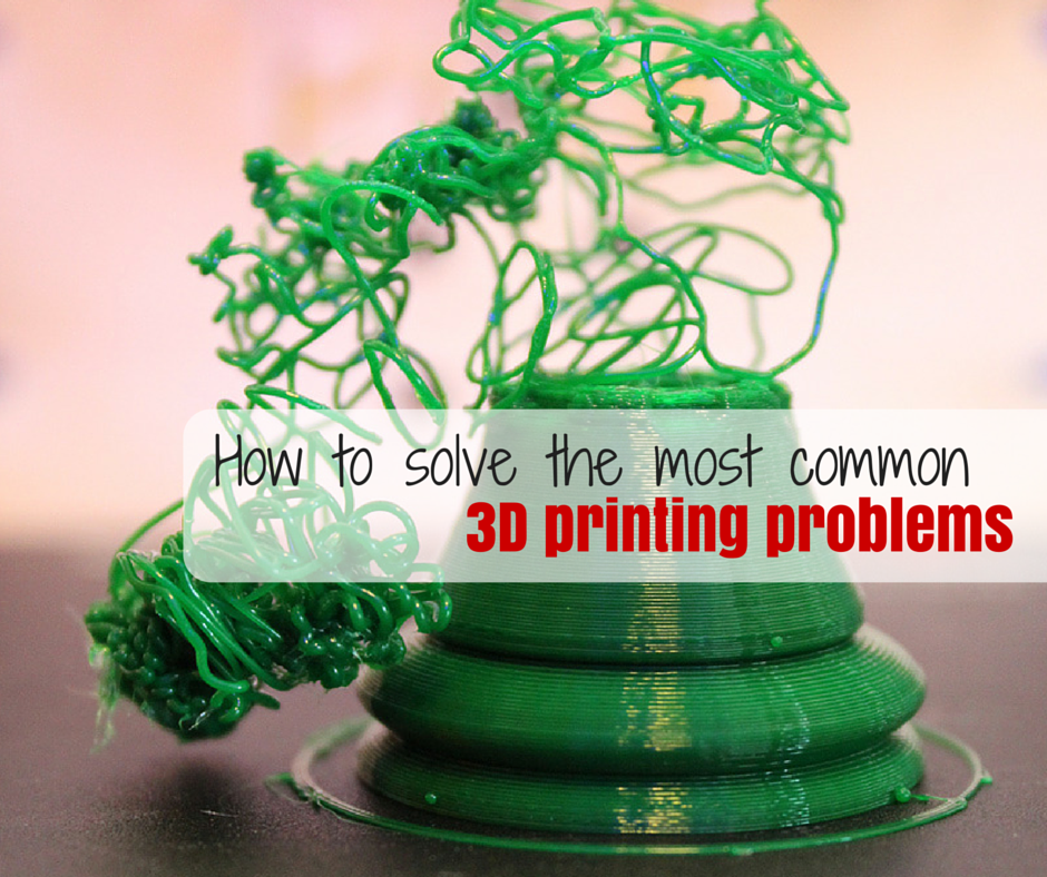 common 3d printing problems