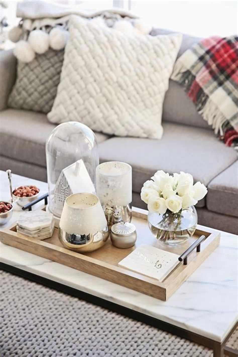 46 Awesome Coffee Table Tray Decor Ideas Homeandcraft Coffee Table Decor Tray Coffee Table Tray Decor